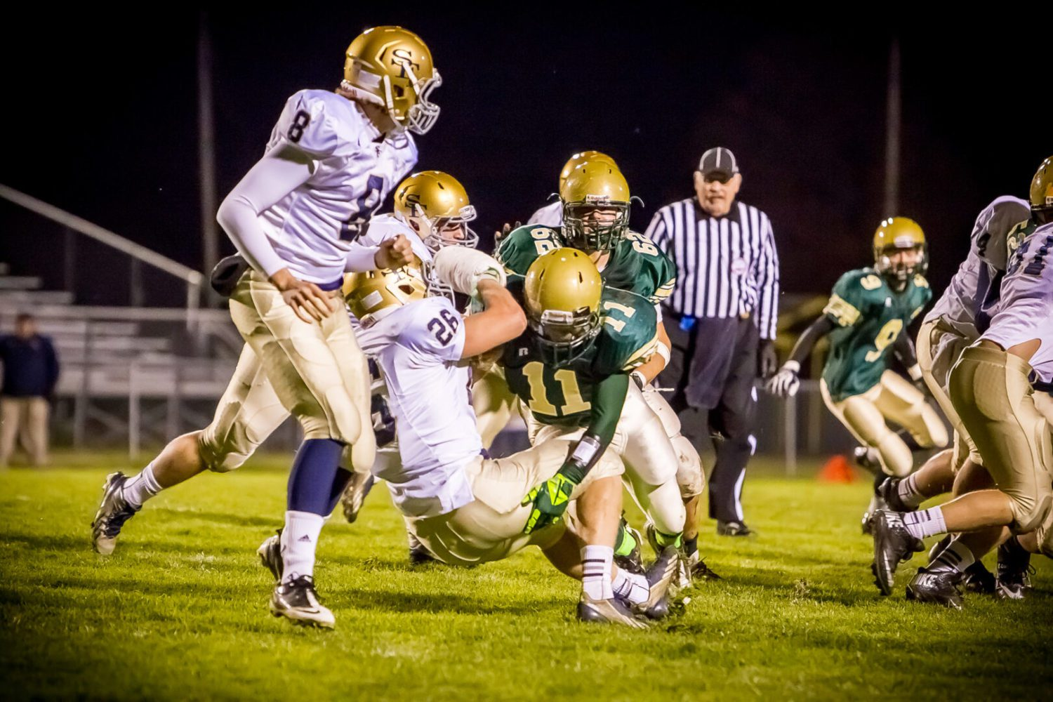 Muskegon Catholic blanks Traverse City St. Francis in 42-point blowout [video]