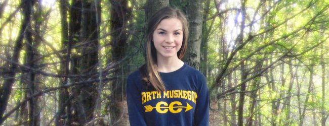North Muskegon All-State runner Avery Lowe has big goals for herself and her team