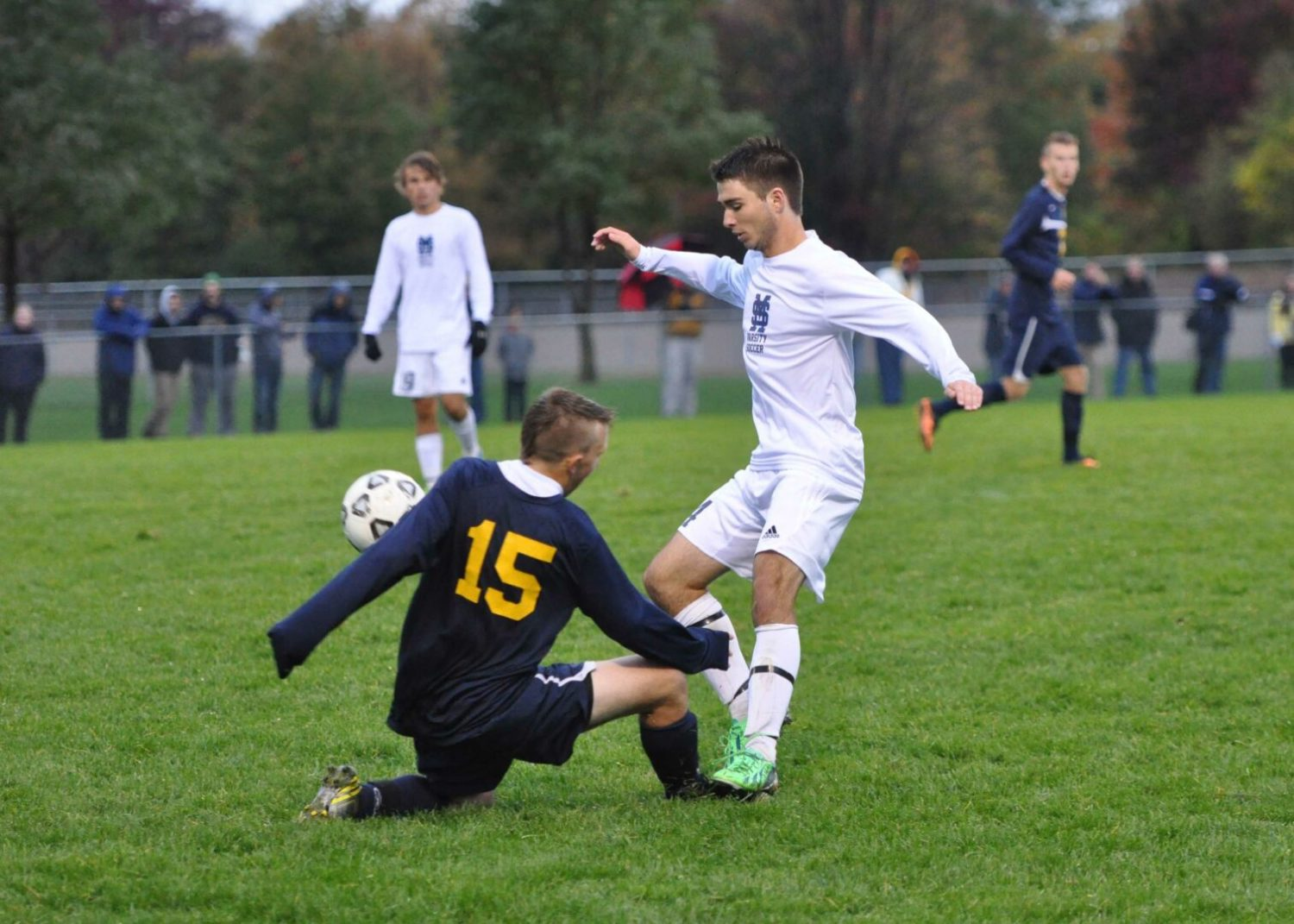 Grand Haven turns the tables on Mona Shores in 2-0 boys soccer district win