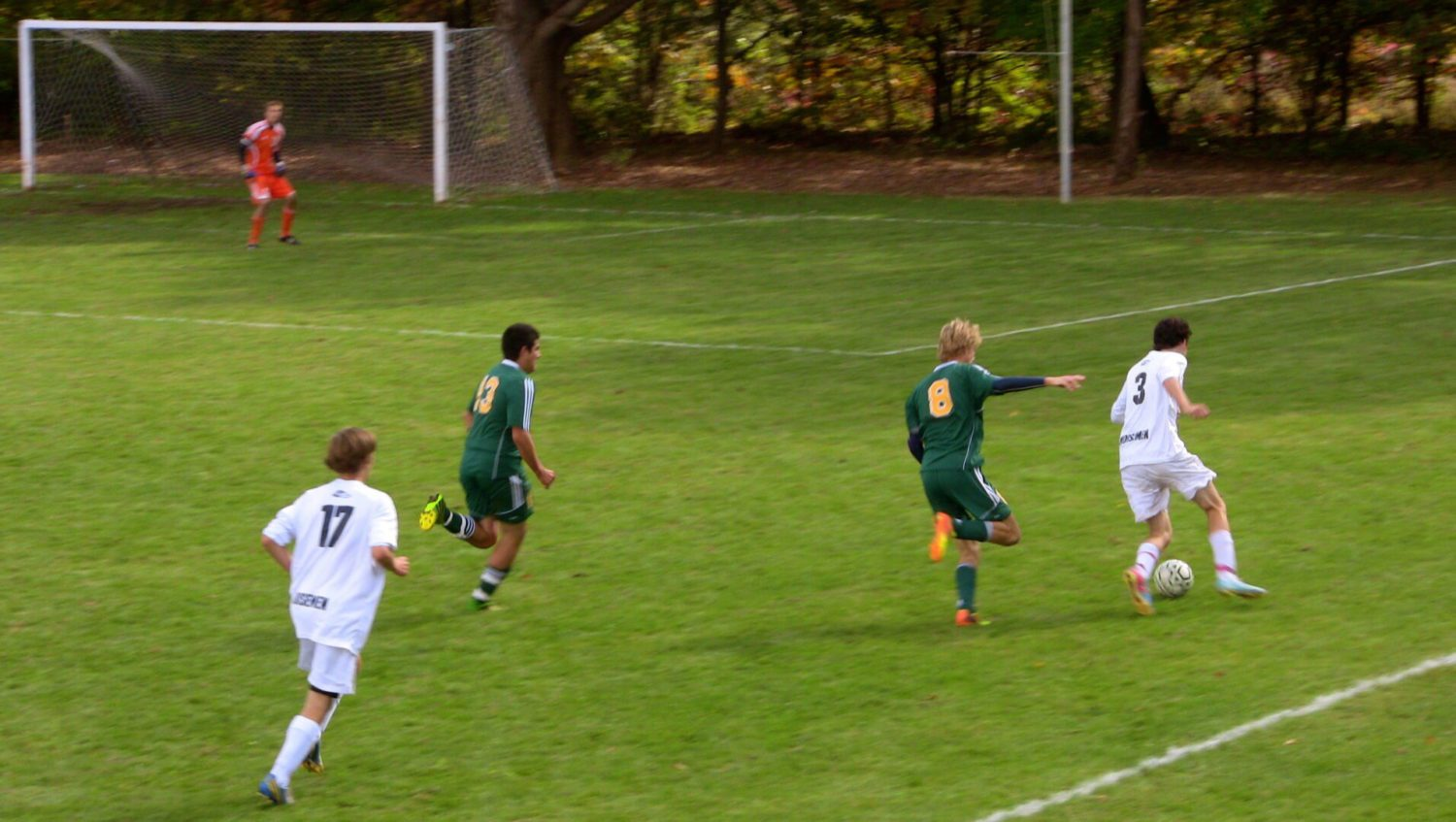Muskegon Catholic avenges last year's loss with a 1-0 victory over North Muskegon in district soccer finals