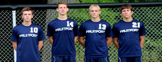 Explosive 'Fruitport Foursome' leads Trojan soccer team to a long-awaited Lakes 8 Conference championship