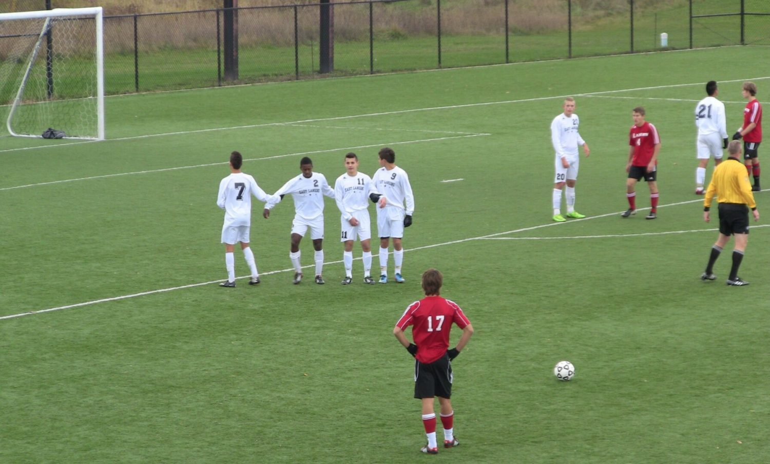 Spring Lake's Cinderella story ends with a 2-0 loss to East Lansing in Division 2 state soccer finals