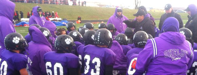Shelby stunned by first-half blitz, falls to Clinton 49-3 in state semifinal [video]