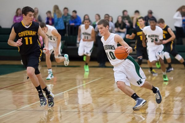 Western Michigan Christian boys open conference play with key victory over Covenant Christian