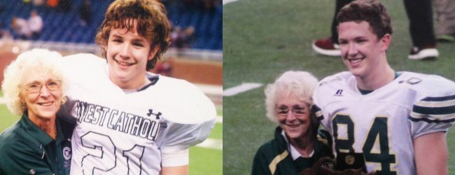 A grandmother's wish, banana cream pie, a trick play and two state titles, all rolled into one