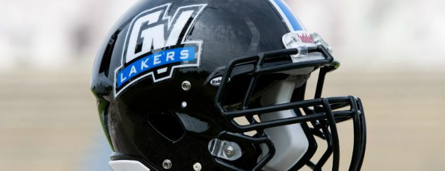 Former Oakridge pigskin standout Potts claims All-American honors in sophomore season at GVSU