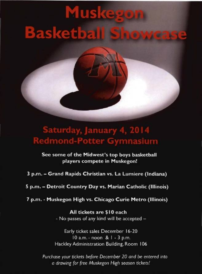 VIDEO: Muskegon Basketball Showcase to bring elite players, teams to Muskegon High on January 4