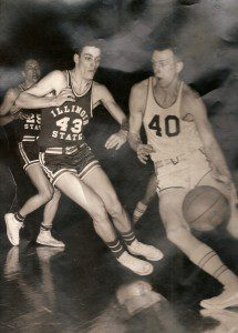 Ken VanDyke drives to the basket during his days at Central Michigan.