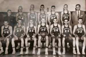 1958 West Michigan Christian class C state championship team.