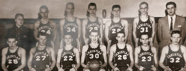 Moyes' Memory: Western Michigan Christian's 1958 state championship team had depth and a standout leader in Ken Vandyke