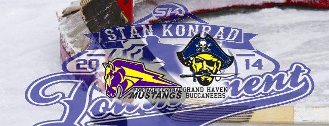 Grand Haven's comeback falls short in a 4-3 loss to Portage Central in the Konrad Memorial Tournament