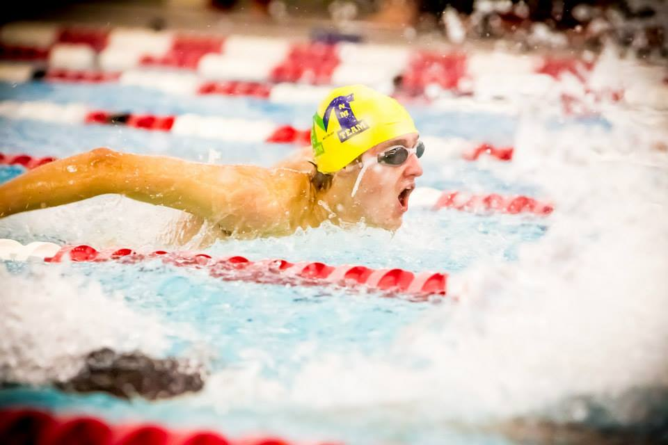 Greater Muskegon co-op swim team wins twice at double dual