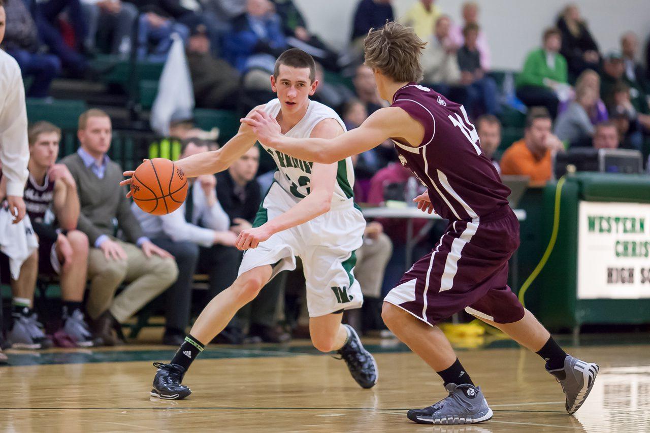 Western Michigan Christian boys' comeback falls short against Holland Christian