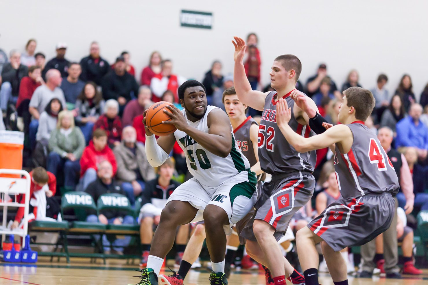 Spring Lake's quick start too much for Western Michigan Christian in boys basketball