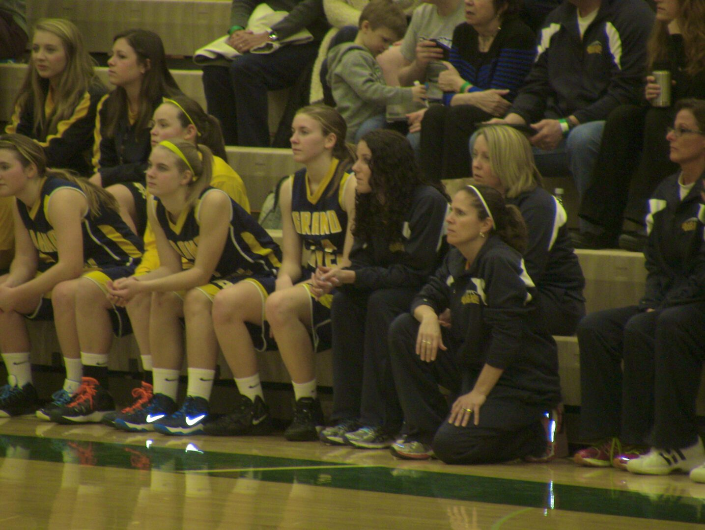 Taylor Craymer scores 25 as Grand Haven marches past Grand Rapids Union in Class A district opener