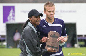 Nate Bruinsma played four years of soccer at Western Illinois. Photo/FB