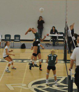Youngest child Rachel Bruinsma currently plays volleyball at Valparaiso. Photo/FB