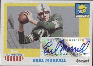 Earl Morrall card