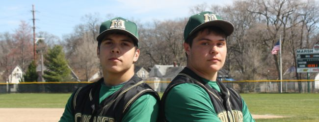 Holt and Holt: Muskegon Catholic brothers form one of the best pitcher-catcher combos in the state
