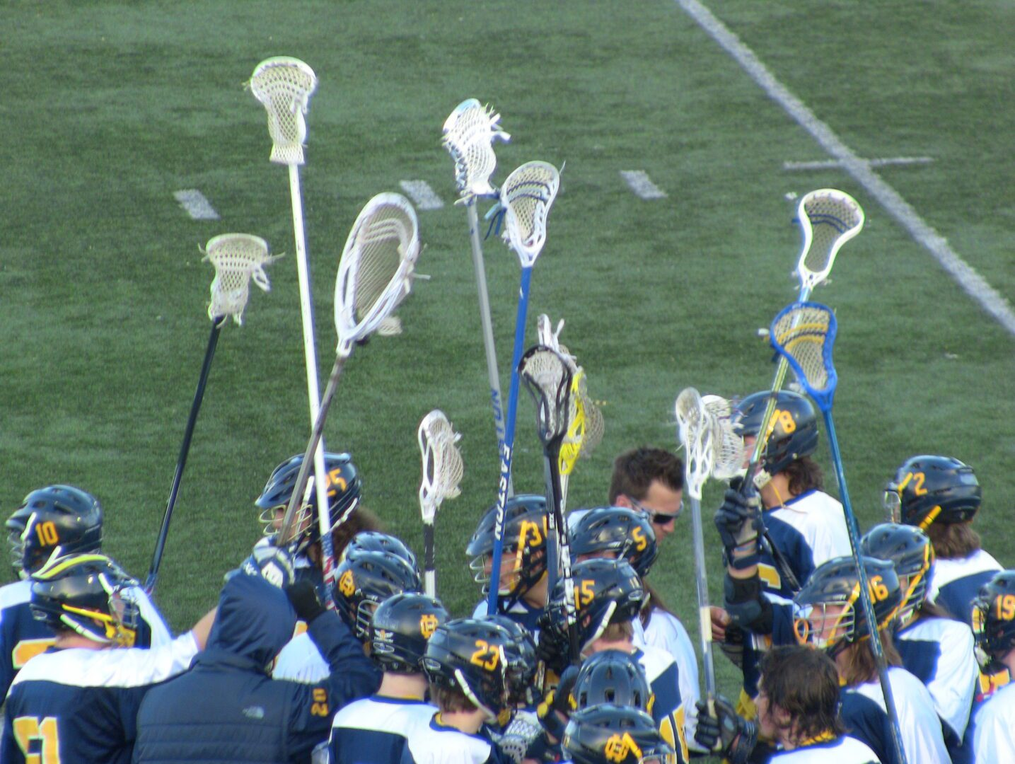 Grand Haven's Trevor McNamara takes over,  captures Grand River Rivalry with Lacrosse win over Spring Lake