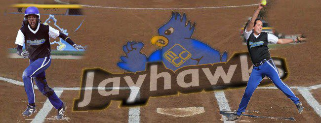 Jayhawks take two tight softball wins, top Grand Rapids Community College