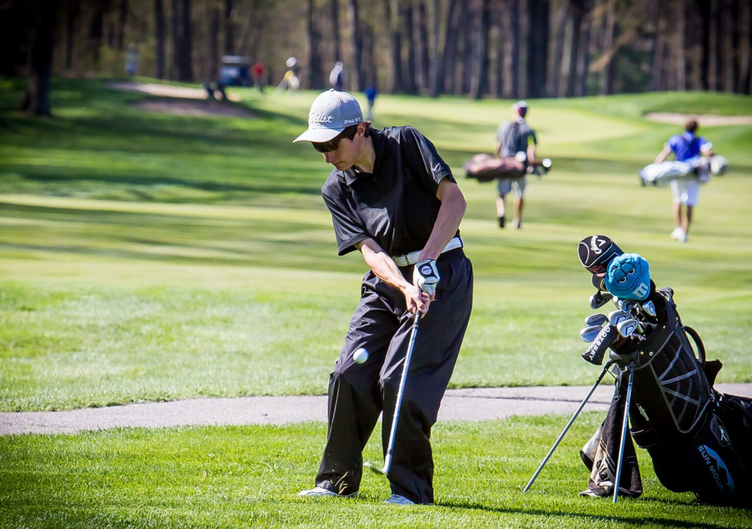 North Muskegon wins district boys golf title as 13 area teams advance to regional tournament