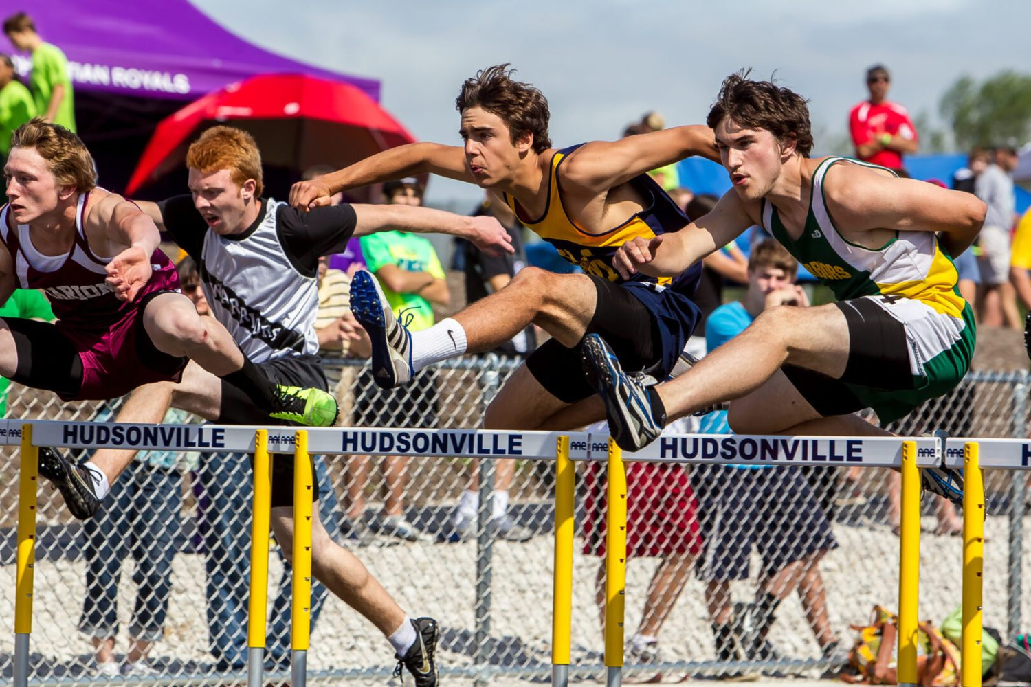 Area relay teams were very strong at high school track regionals over the weekend