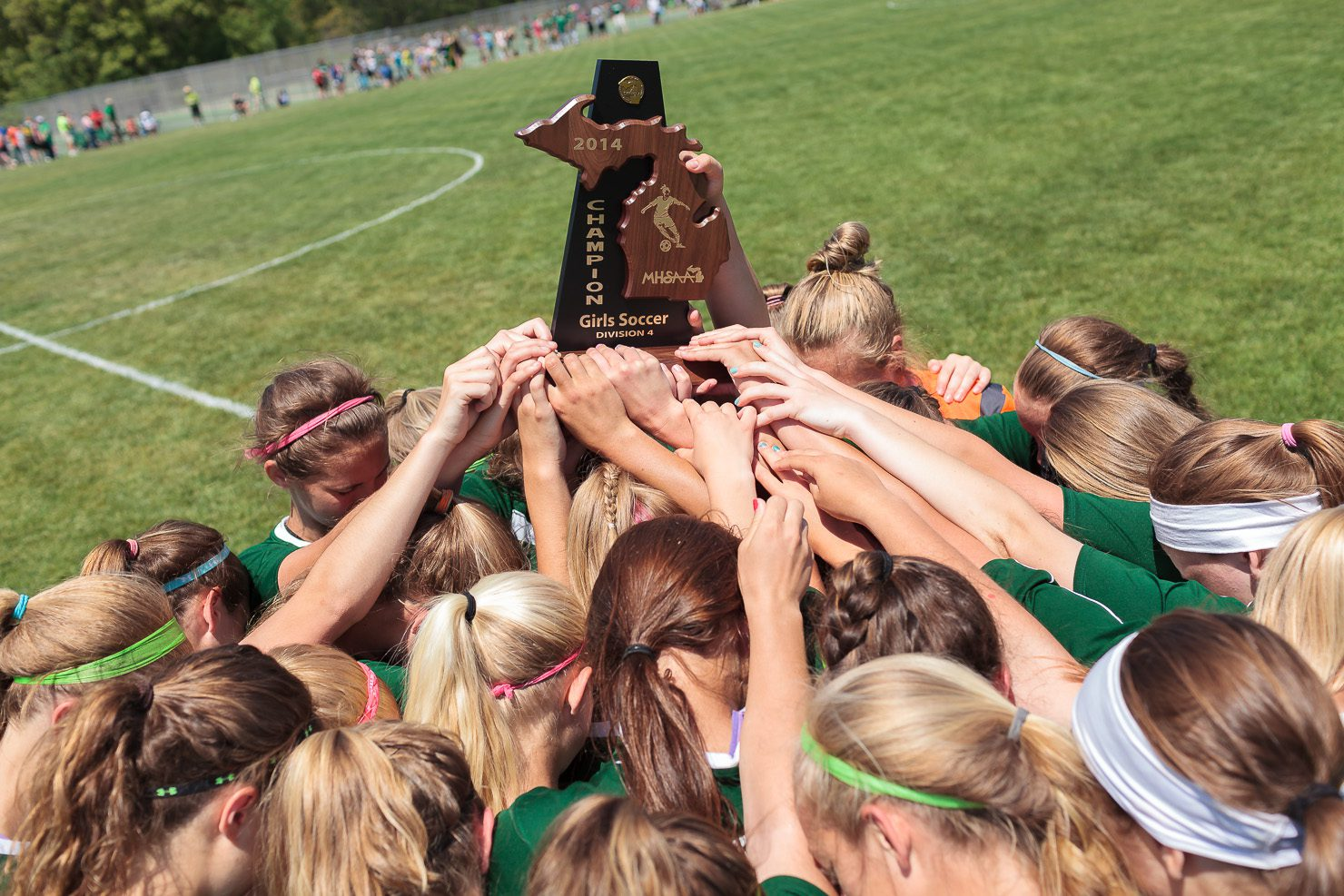 Western Michigan Christian advances past Muskegon Catholic for Division 4 district soccer title [VIDEO]