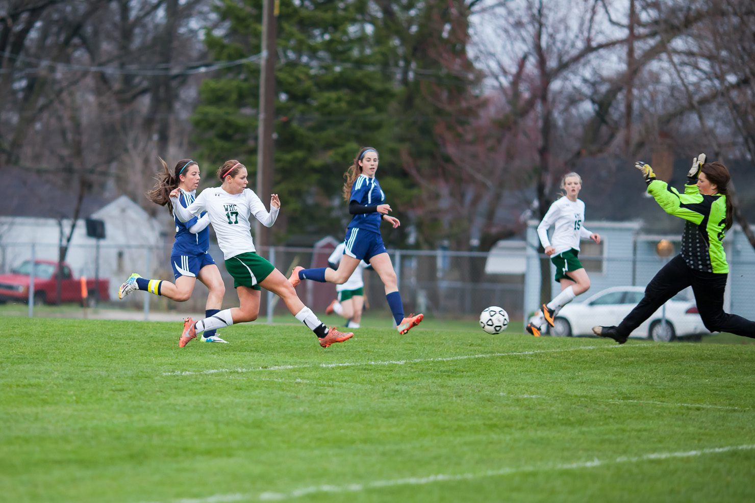 Five-goal second half lifts Western Michigan Christian in girls soccer