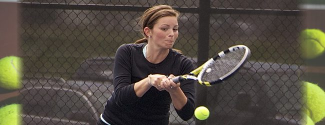 Claire DeYoung, Sailors playing their best tennis of the season when it matters most