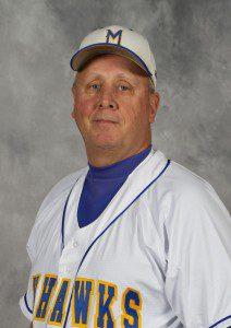 MCC head baseball coach Cap Pohlman.