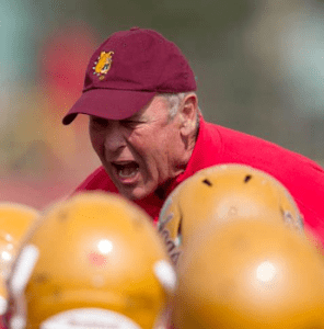 Coach Jack Schugars currently coaches at Ferris State University and is the Muskegon area's all-time winningest coach.