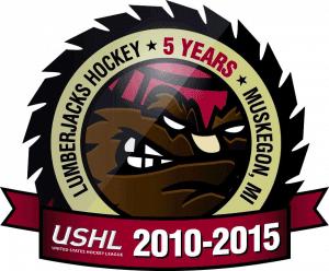 lumberjacks 5 years logo