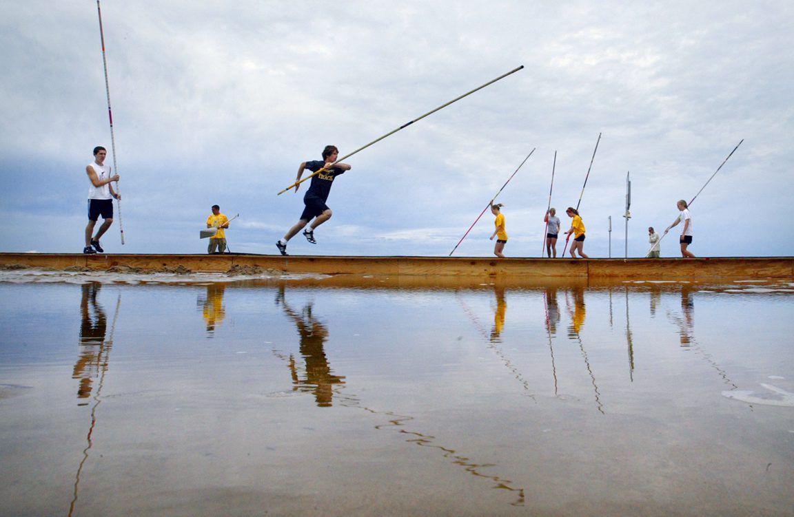 Top pole vaulters from the US and many others to test their skills at Grand Haven Beach Vault