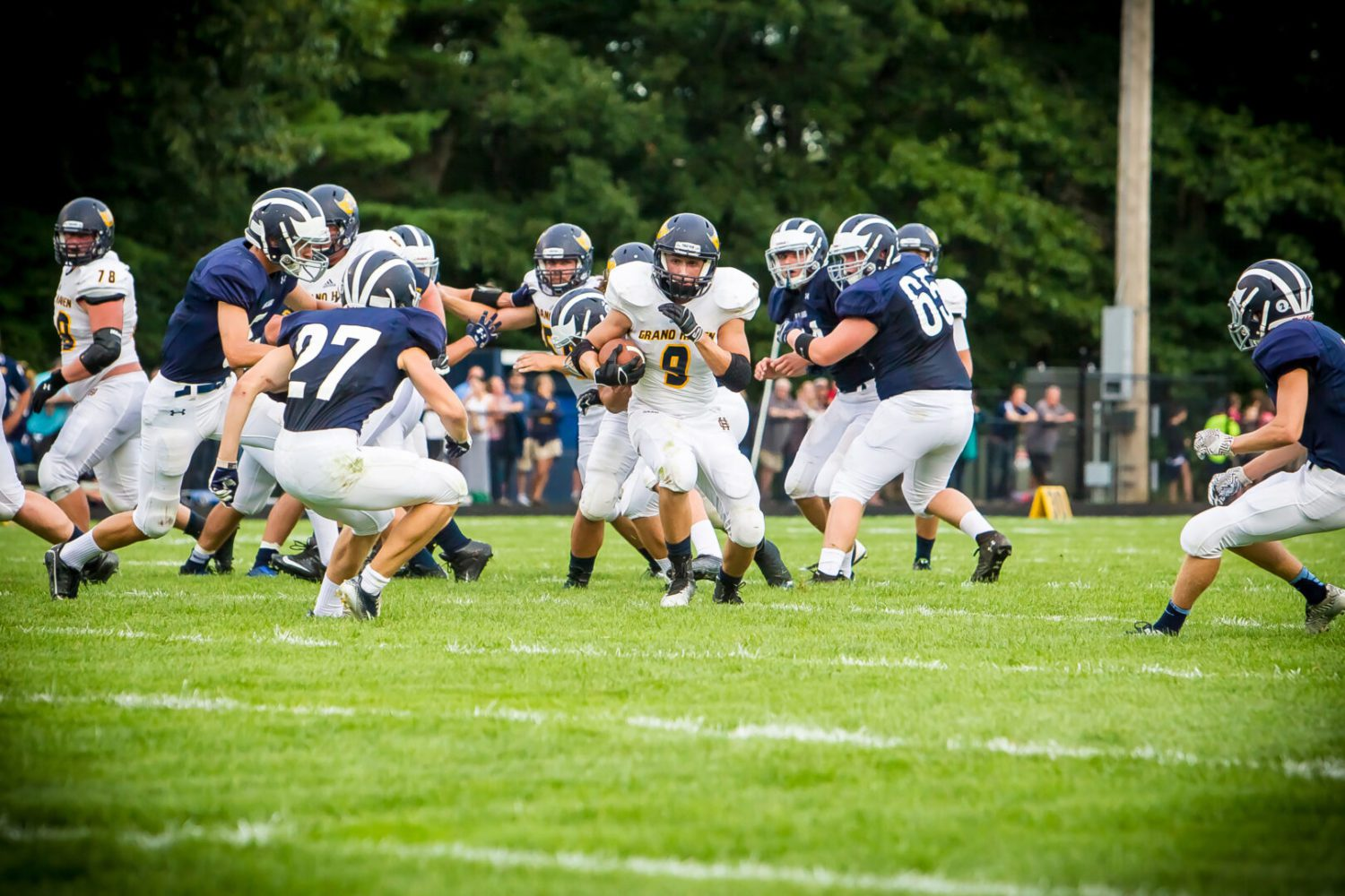 Late field goal gives Grand Haven a thrilling 17-14 win over Fruitport
