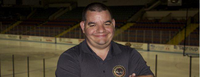 Local super hockey fan Dan DeVowe working overtime to sell Muskegon Lumberjacks season tickets
