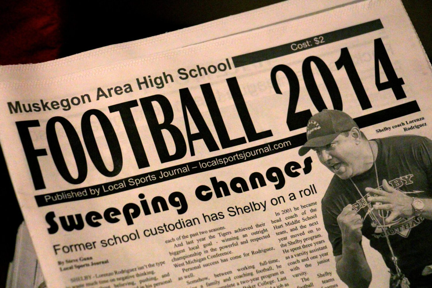 Updated list of area outlets selling 2014 high school football preview section