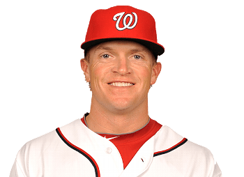 Washington Nationals place Nate McLouth on the 15-day DL for right shoulder problem