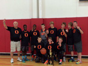 Ludington 6th grade team recently won their division at AYBT Nationals in Ft. Wayne, Ind.