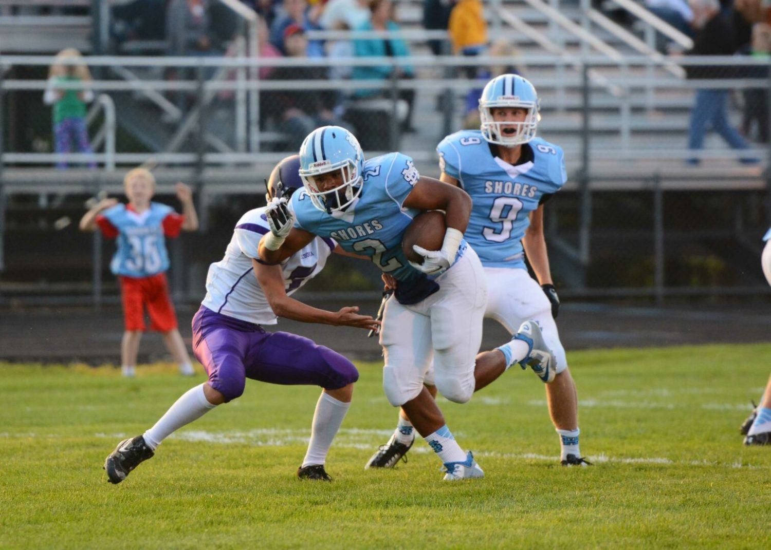 Mona Shores pulls away in the second half for a 61-20 win over Zeeland East