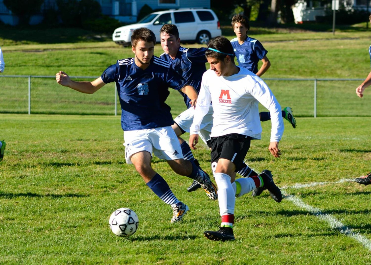 Muskegon blanks Muskegon Catholic 6-0 in non-league soccer matchup