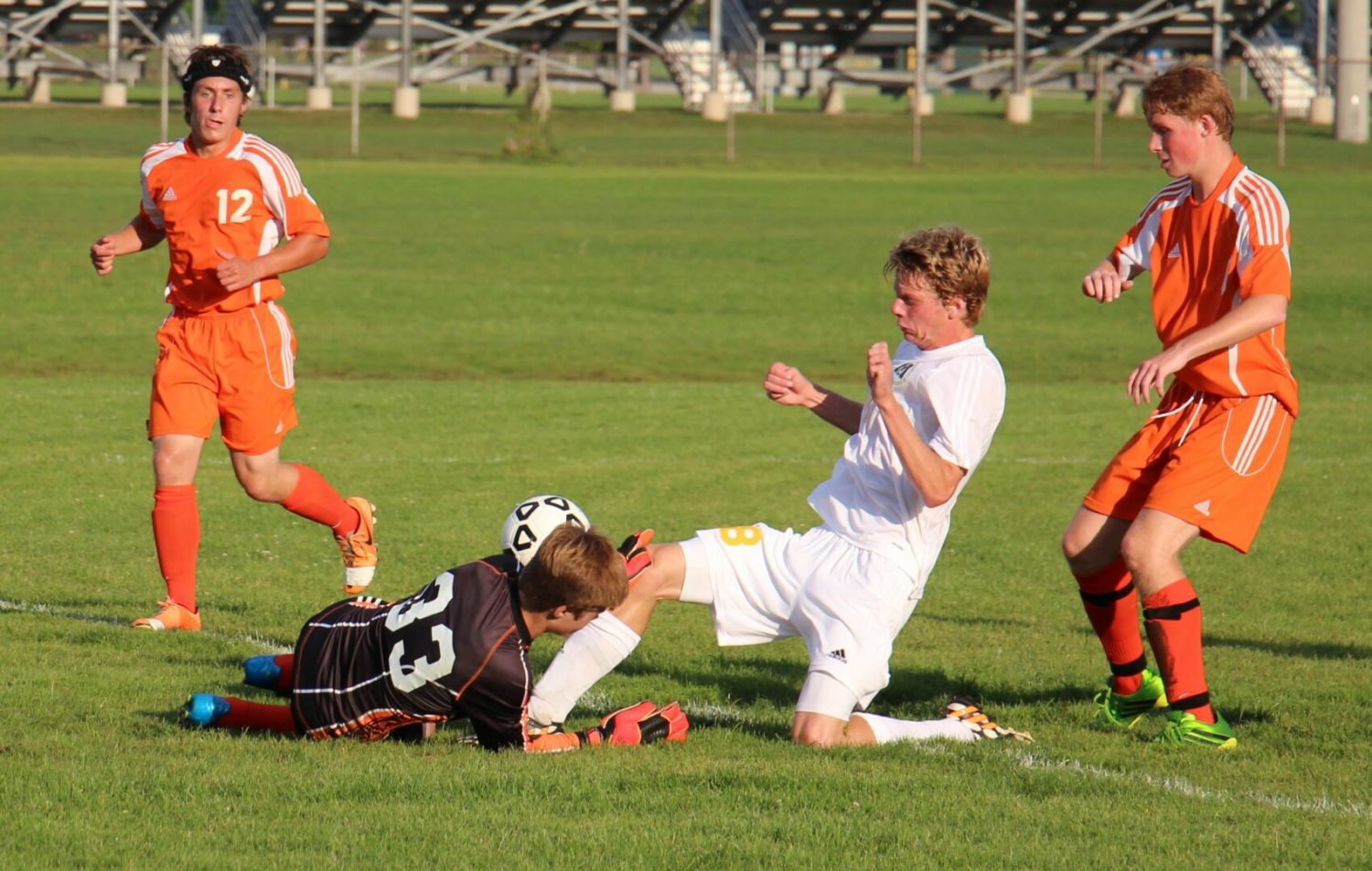 Young Muskegon Catholic soccer team opens its Lakes Conference era with an overtime loss to Ludington