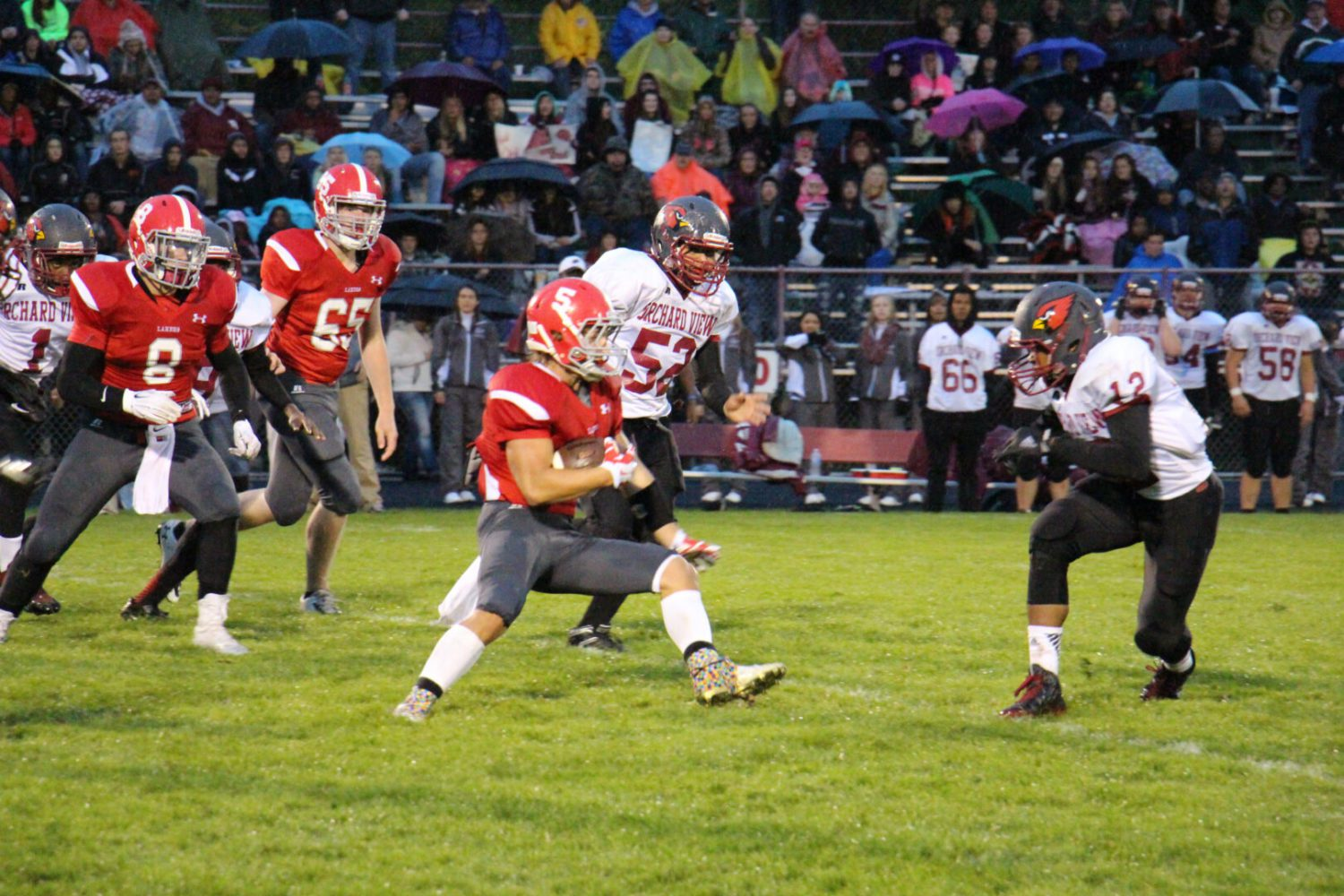 Spring Lake attacks early en route to 55-22 win against Orchard View