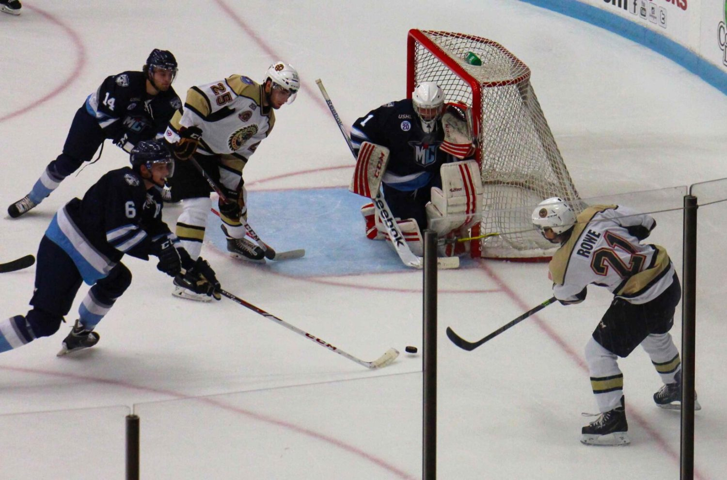 Lumberjacks survive late Madison rally to win their home opener, 4-3