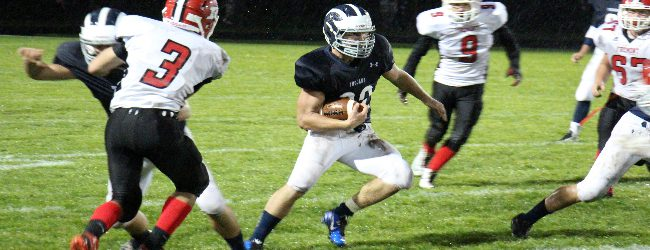 Nathan Kriger leading Fruitport at defense and a featured back on offense