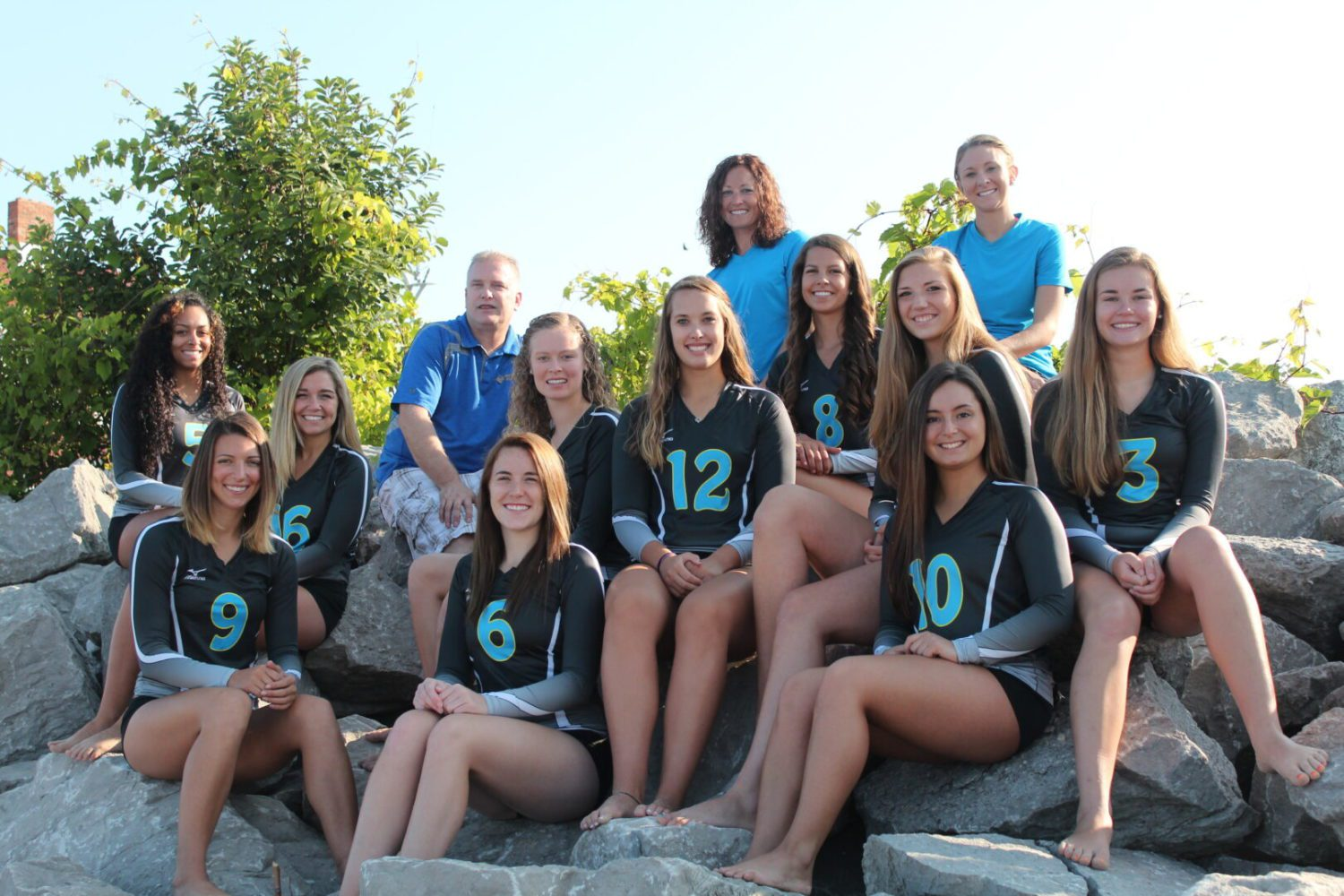 Jayhawk volleyball team remains in contention for another league title after a slow start this season