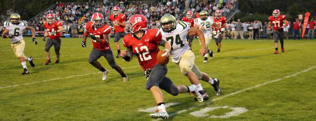 Spring Lake flies past Fremont 60-28 for a Lakes 8 football win