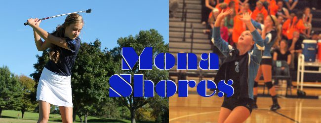 Volleyball-to-golf converts Majeski and Potts will provide valuable depth for Mona Shores at Wednesday's city meet