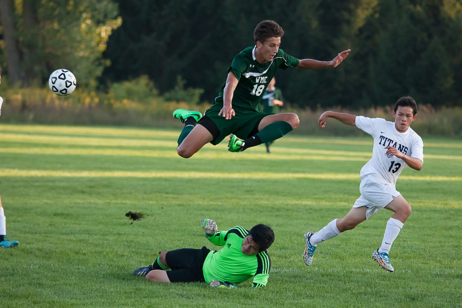 Western Michigan Christian soccer team wins Division 4 district title with third shutout in three games