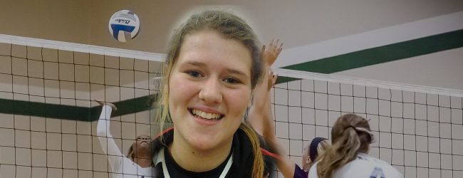 Spring Lake's Kelsee Zuidema combines power and finesse to dominate on the volleyball court